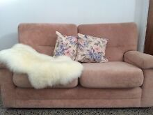 FREE! Pastel Pink Retro 2x seater couch! Croydon Burwood Area Preview