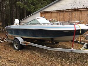 Boat and Trailer with Motor - sale pending