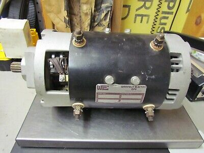 New Crown Forklift Motor Drive Part Number 082289 Warfield Electric 36v