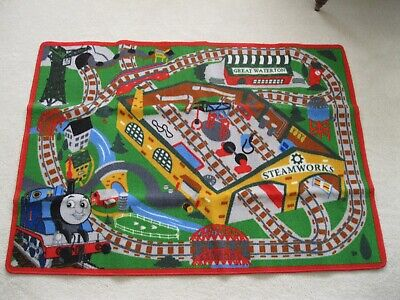 """Thomas & Friends Play Rug """"Steamworks"""" Whistle Backpack 31.5 x 44 by Gertmenian"""
