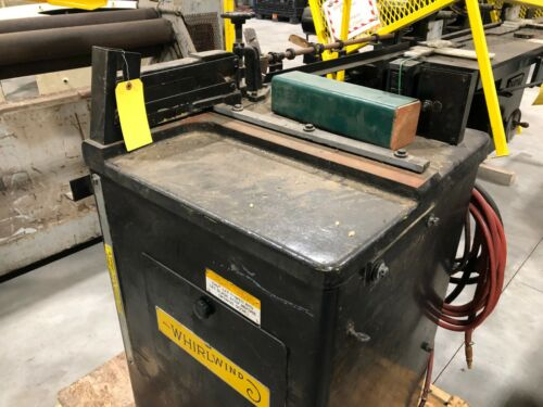 """WHIRLWIND Upcut Saw 1000L 5 HP 14"""" Blade Left Hand Cut Off Saw"""