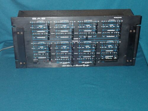 SAE 2800 Solid State Stereo Parametric Equalizer, works well, serviced