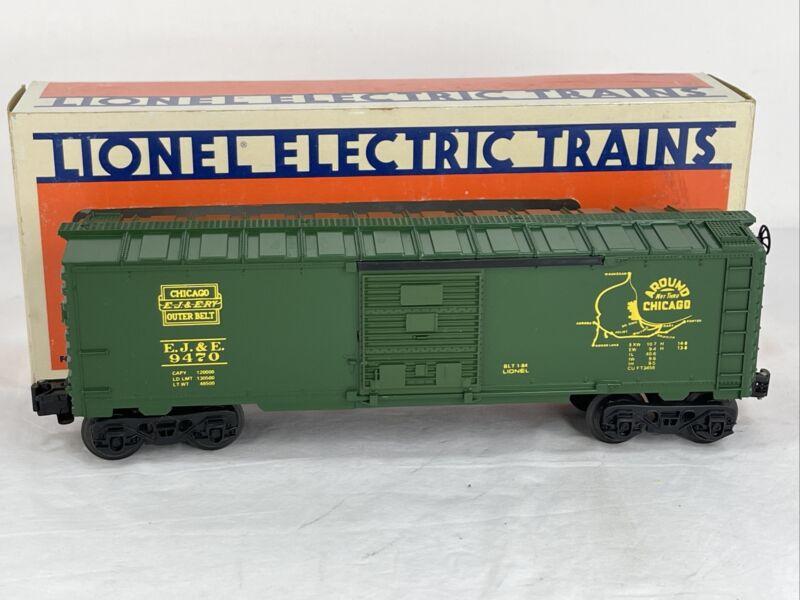 LIONEL 6-9470 CHICAGO(OUTER BELT) BOXCAR- ORIGINAL BOX O-GAUGE