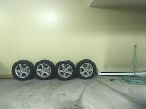 Winter mags with winter tires for sale