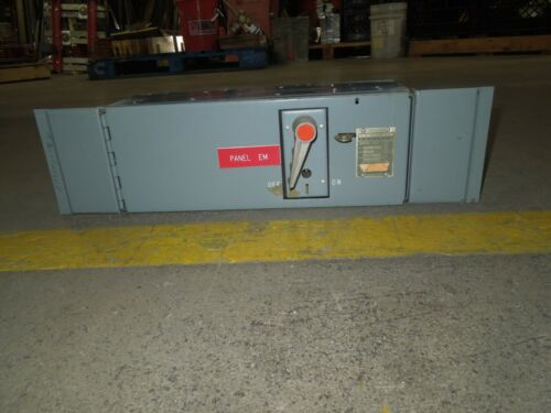Fpe Qmqb1032 100a 3p 240v Single Fusible Switch Unit Used