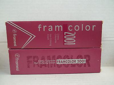 FRAMESI Professional FramColor 2001 Hair Color Cream (Levels 1 thru 7) ~ 2 oz!!