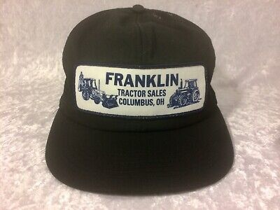 Used, Franklin Tractor Sales Mesh Snapback Trucker Hat K Products Patch Columbus Ohio for sale  Shipping to India