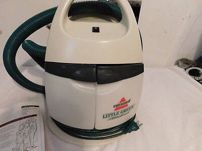 (Bissell Little Green Pet carpet cleaner Spot and Stain Model 1720-9 Portable )