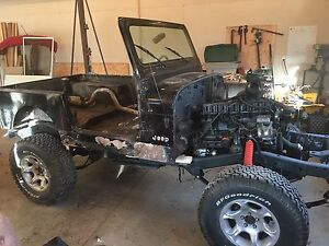 Project 87' YJ Jeep