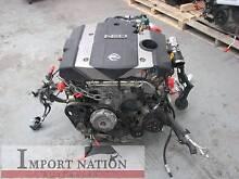 Nissan VQ30DET Turbo Motor Engine - + Loom + ECU Comp Tested Braeside Kingston Area Preview