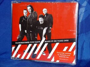 U2-Sometimes-You-Can-039-t-Make-it-On-Your-Own-CD-SINGOLO-3-Tracks-NUOVO-SIGILLATO