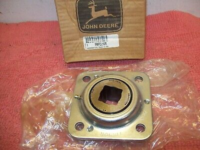 John Deere Fd210r Ag Flanged Disc Bearing Unit 1-18 Square Bore Re-lube Usa
