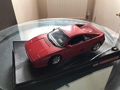 Ferrari F355 Berlinetta Red 1994 1:18 Diecast Model Car Hotwheels