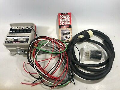 Generac Portable Generator Power Switch Transfer System Load Manager 01276-1