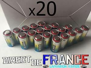 20 Piles Alcaline 4LR44 6V 476A POUR COLLIER CHIEN