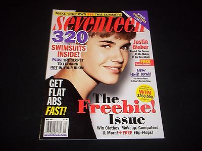 2012 MAY SEVENTEEN MAGAZINE - JUSTIN BIEBER - BEAUTIFUL FASHION ISSUE - D 1635