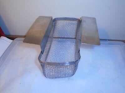 Stainless Steel Ultrasonic Cleaner Mesh Basket 9 X 4.25