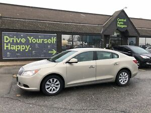 2010 Buick LaCrosse CX / heated seats / heated mirrors 17 alloys