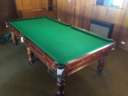 Pool table slate in victoria gumtree australia free for 1 piece slate pool table