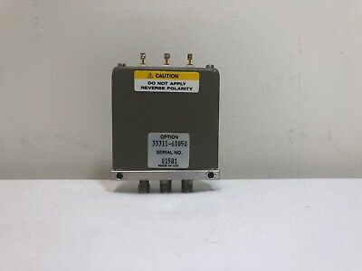 HP 70612-60003 Coaxial Switch Relay 24VDC SMA Female Connectors Hewlett Packard