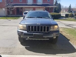2004 Jeep Grand Cherokee SE FULLY LOADED 1500 OBO WONT LAST