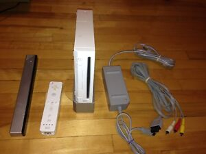 Nintendo Wii With all cable 1 controller Stand