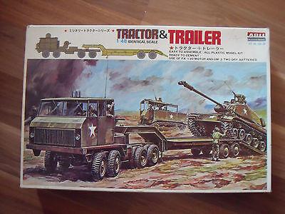 Tractor & Trailer 1/48