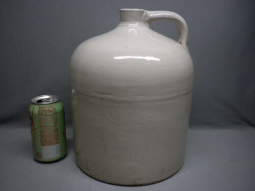 Antique Americana Fallston Pottery Salt Glazed Stoneware Crock Jug 1880