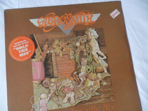 AEROSMITH ***SEALED***__ Original Press__Toys In Attic LP__HYPE STICKER__EX+