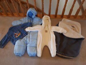 Baby sleepers, Bundleme, Mickey Mouse jean jacket