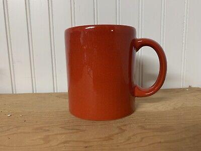 Plain Coffee Mugs (Waechtersbach Solid Red Coffee Mug Plain)