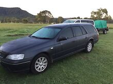 Ford Futura 2006 Station Wagon 7 Seater BF MKii for sale or swap 4WD Quorrobolong Cessnock Area Preview