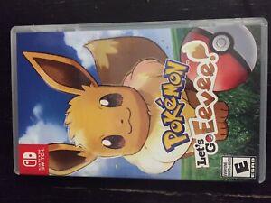 Pokémon Let's Go Eevee - switch game