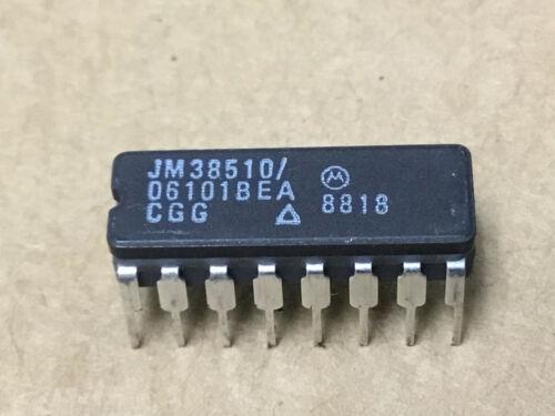 (1 PC) MOTOROLA  JM38510/06101BEA   Flip Flop, Dual, D Type, 16 Pin, Ceramic