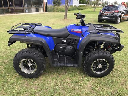 Crossfire 500cc territory atv 4+4 Quad bike  Jamisontown Penrith Area Preview