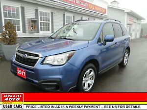 2017 Subaru Forester  i /AS LOW AS $74.00 A WEEK