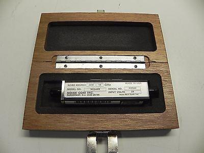Noisecom Nc346d .010 - 18 Ghz Noise Source