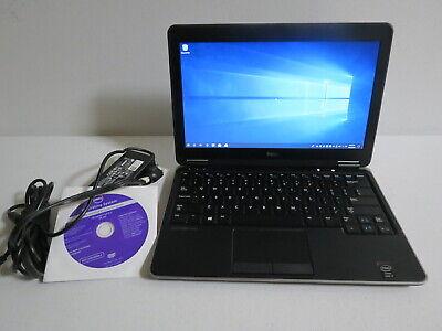 Dell Latitude E7240 Laptop i7 4600u 16GB 256GB msata SSD Win 10 Pro 12