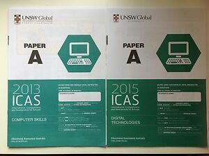 icas paper Using competition and assessment reports school reports are sent to each participating school they contain detailed  (icas) in science.