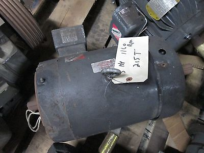 Baldor Double-shafted Ac Motor 37h543y833h2 5hp 1160rpm 230460v 16.28.1a Used