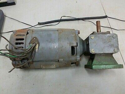 Baldor Dc Right Angle Gear Motor 34 Hp 3500 Rpm 100v 56c 8.5a Spec 27f86w62