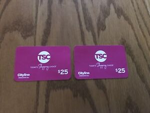 TSC Today's Shopping Choice Gift Cards