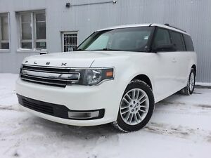 2013 Ford Flex SEL, AWD, BACKUP CAM,  LEATHER, SUNROOF, 7 PASS.