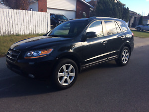 2009 Hyundai Santa Fe ltd AWD  SUNROOF,,LEATHER,,LOADED