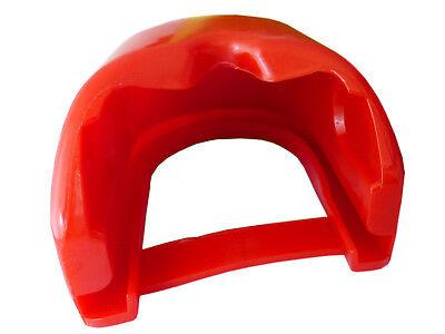 Prallschutz + Schutzkappe Soft Dock Anhänger Zugmaul Zugkugelkupplung Rot