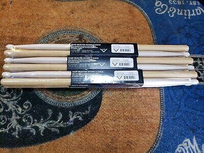 BULK Vater Extended Play Power 5B Nylon Drum Sticks 6-Pack VEPP5BN - Bulk Drum Sticks