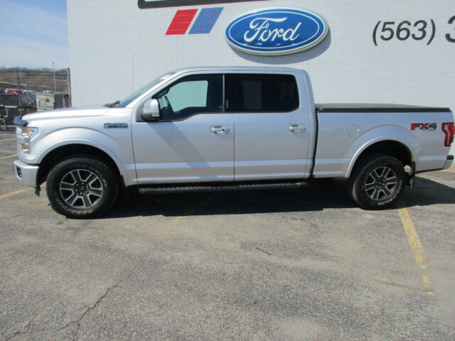 Image 1 of Ford: F-150 LARIAT Silver…