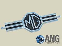 Aufnäher Badge Sticker MG Logo schwarz weiß MGA MGB GT Midget MGT