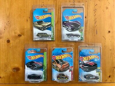 Hot Wheels Super Treasure Hunt Real Riders Lot of 5 Inc Ferrari 599xx, Borla
