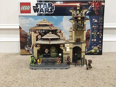Lego Star Wars Jabba's Palace 9516 (Rare- Discontinued)